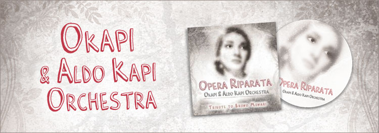 Okapi - Opera Riparata - Tribute to Bruno Munari