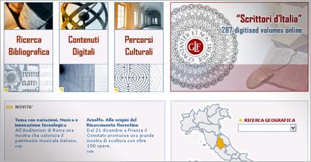 Internet Culturale  - Network Turistico-Culturale