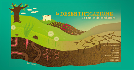 La Desertificazione - Un nemico da combattere