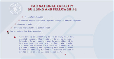 Fao national capacity building and fellowships