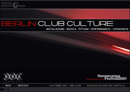 Berlin Club Culture