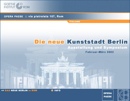 Berlino-Nuova città d'arte