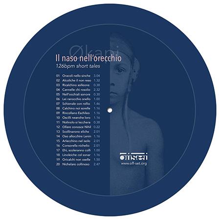 "Økapi - Naso nell'orecchio - Picture disc 10"""